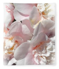Camellias Softly Fleece Blanket