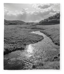 Camp Creek  Fleece Blanket
