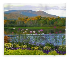 Campton Pond Campton New Hampshire Fleece Blanket