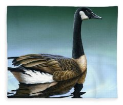 Canada Goose II Fleece Blanket