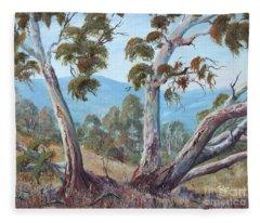 Canberra Hills Fleece Blanket