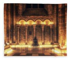 Candlemas - Bell Fleece Blanket