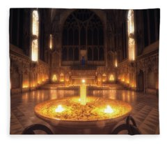 Candlemas - Lady Chapel Fleece Blanket