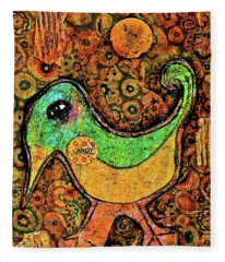 Candy Bird Fleece Blanket