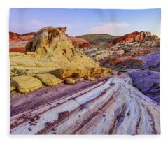 Desert Photographs Fleece Blankets