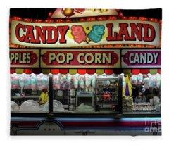 Candy Land Fleece Blanket