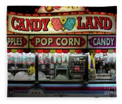 Candy Land Fleece Blanket