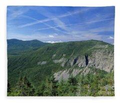 Cannon Mountain - White Mountains New Hampshire Usa Fleece Blanket