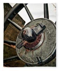 Cannon Wheel Fleece Blanket