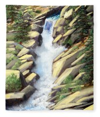 Canyon Falls Fleece Blanket