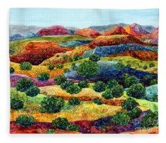 Canyon Impressions Fleece Blanket