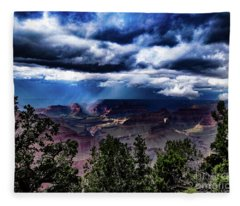 Canyon Rains Fleece Blanket