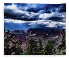 Canyon Rains Fleece Blanket