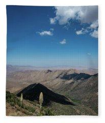 Canyon Shadows Fleece Blanket