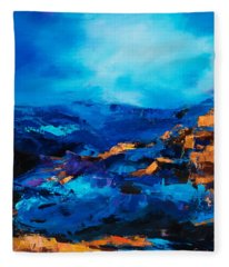 Canyon Song Fleece Blanket