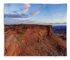 Canyonlands Delight Fleece Blanket