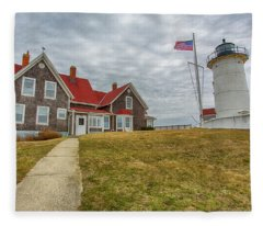Cape Cod Lighthouse Fleece Blanket