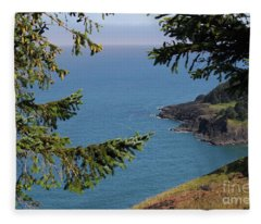 Cape Foulweather  Fleece Blanket