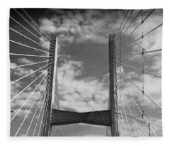Cape Girardeau Bridge Fleece Blanket