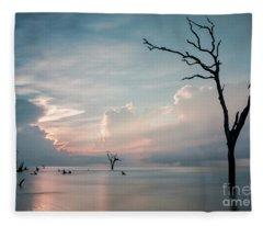 Cape Romain Fleece Blanket