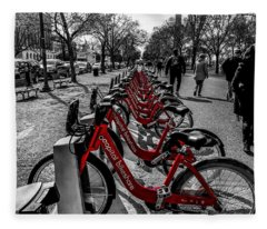 Capital Bikeshare Fleece Blanket