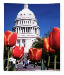 Capital Colors Fleece Blanket