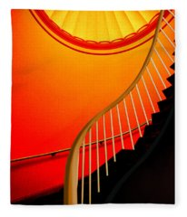 Capital Stairs Fleece Blanket