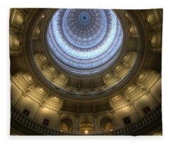Capitol Dome Interior Fleece Blanket