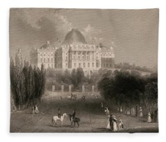 Capitol Of The Unites States, Washington  Fleece Blanket