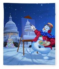 Capitol Paintings Fleece Blankets