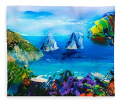 Capri Colors Fleece Blanket