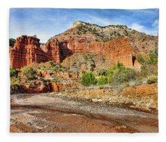 Caprock Canyon Fleece Blanket