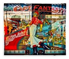 Captain Fantastic - Pinball Fleece Blanket