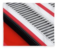 Car Art Louvers Fleece Blanket