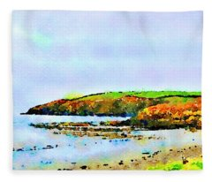 Cardigan Bay Fleece Blanket