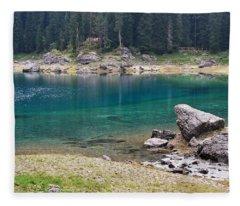 Dolomites Fleece Blankets
