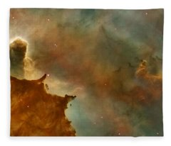 Carina Nebula Details -  Great Clouds Fleece Blanket