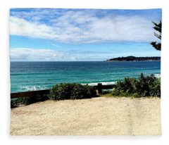 Carmel By The Sea Fleece Blanket