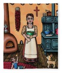Carmelitas Kitchen Art Fleece Blanket