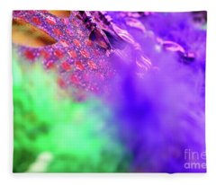 Carnaval In Color Fleece Blanket