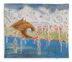 Carnivore Fleece Blanket