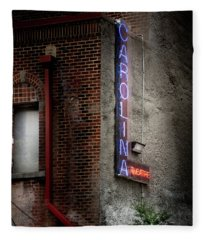 Carolina Theatre Neon Fleece Blanket