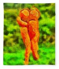 Carots In Love - Da Fleece Blanket