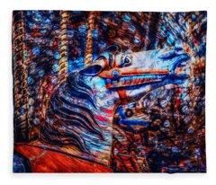Carousel Dream Fleece Blanket