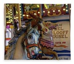 Carousel Friends Fleece Blanket