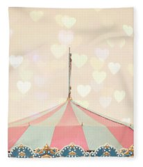 Carousel Tent Fleece Blanket
