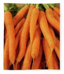 Carrots #2 Fleece Blanket