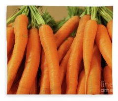 Carrots Fleece Blanket