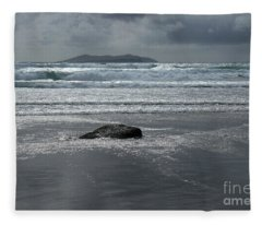 Carrowniskey Beach Fleece Blanket