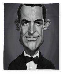 Celebrity Sunday - Cary Grant Fleece Blanket